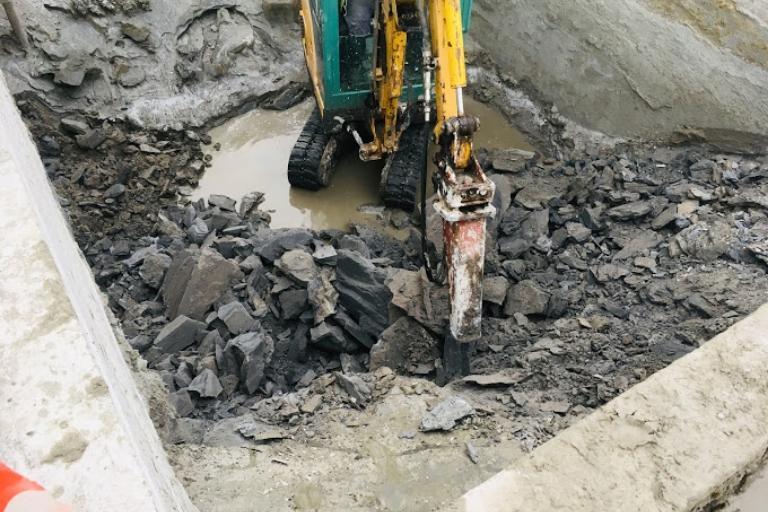 Prace kanalizacyjne 4